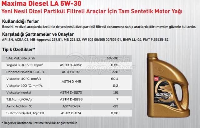 Maxima Diesel LA 5W-30