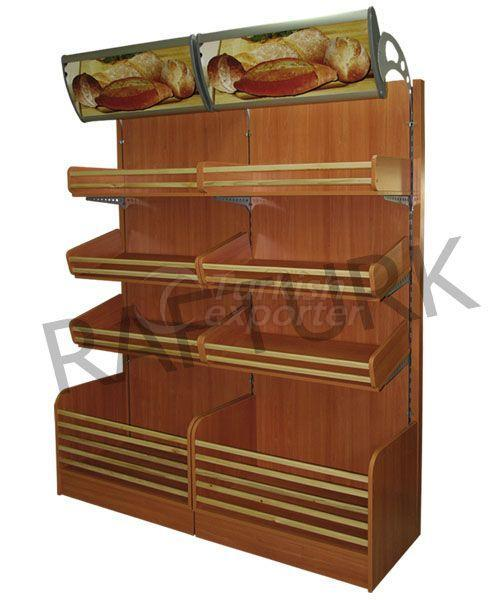 Baked Product Shelves
