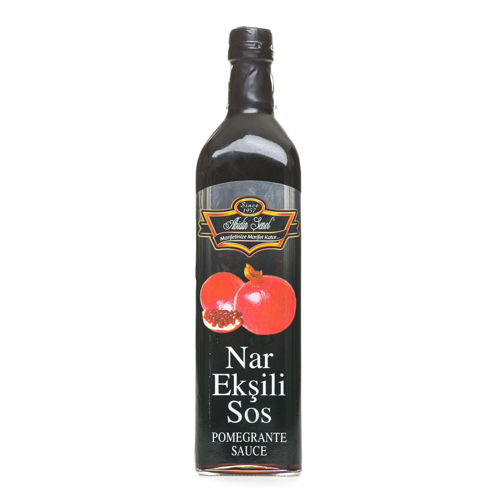 Pomegranate Sauce Glass
