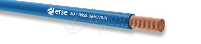 Silicone Cables SIAF H05S-U-H07S-K