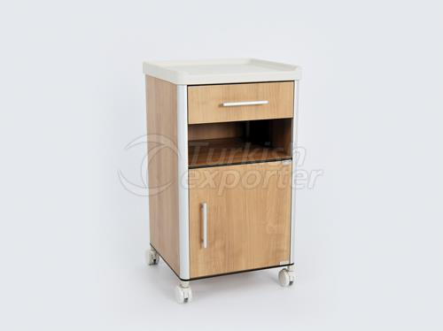Bed Side Cabinet Compact