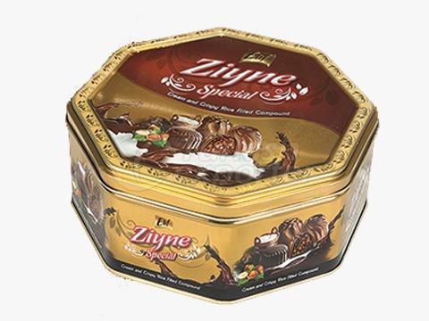 Elif Ziyne Octagon Tin Box