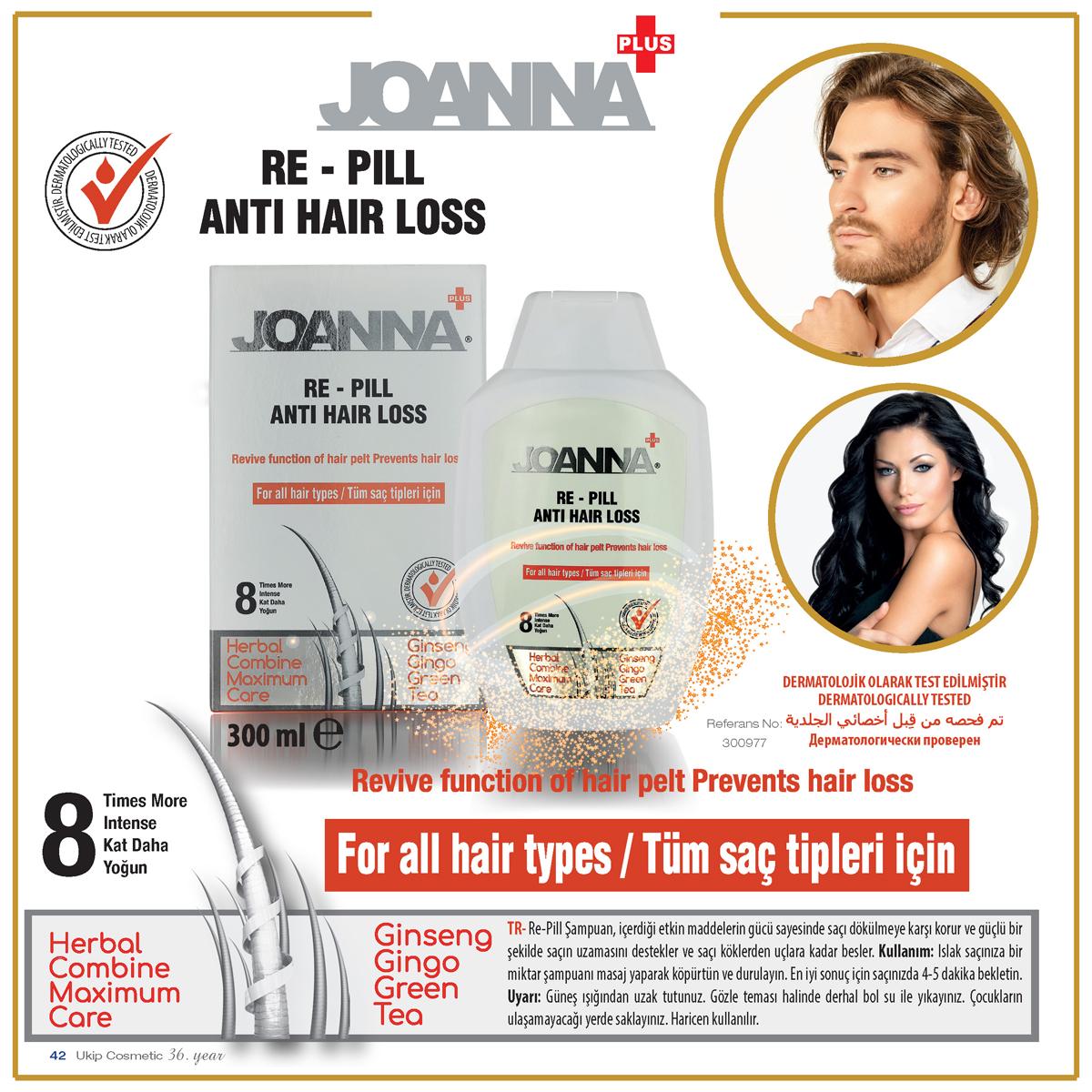 Re-Pill Şampuan Joanna