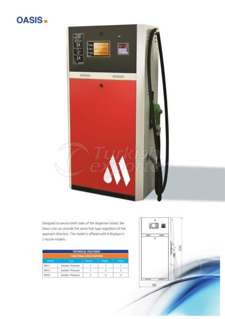 Distributeurs de carburant Oasis