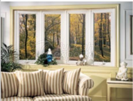 Line x60 Pvc Window