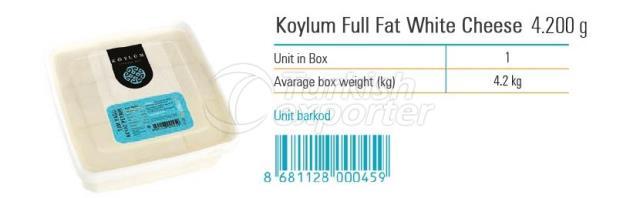 Koylum Full Fat White Cheese 4200g