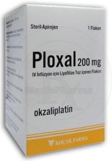 PLOXAL S  50 mg & 100 mg & 200 mg VIAL