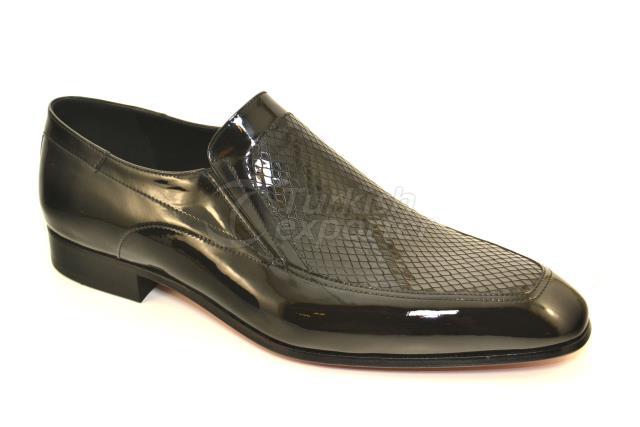 4749 Sapatos de Patentes Negras