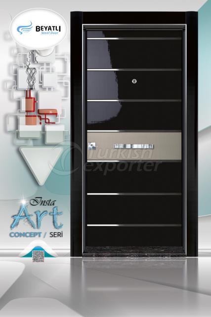 Steel Door - Insta 303