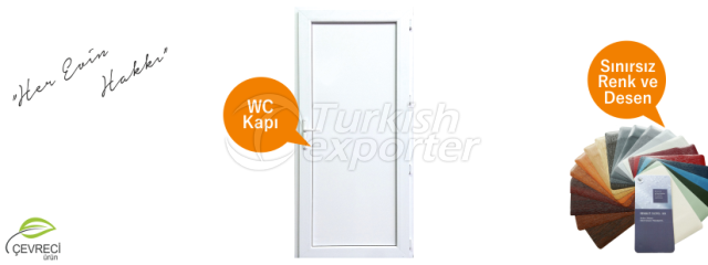 WC PVC Doors