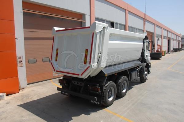 Camiones montados medio tubo Dump02
