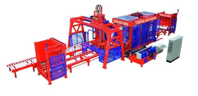 Concrete Blockmaking Machines KPM-1036-TS