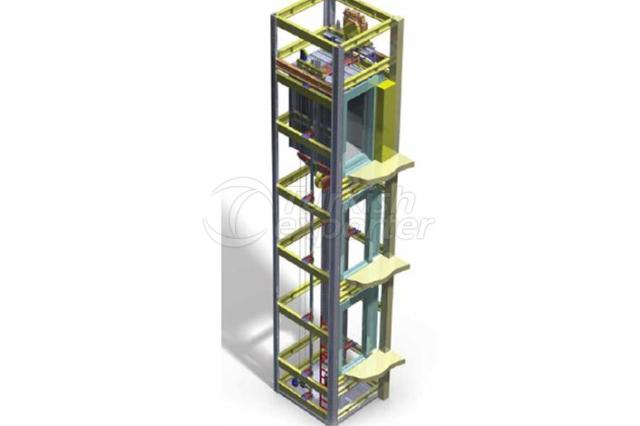 Elevators without Engine Room