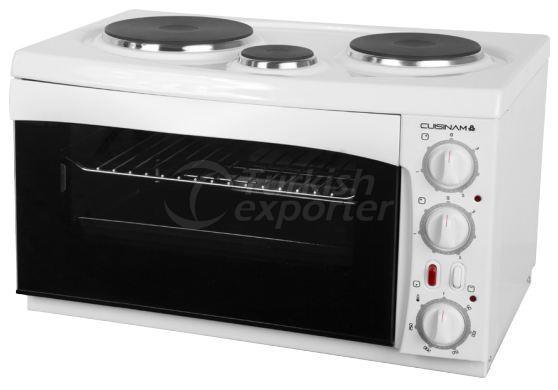 Mini Kitchen Oven with 3 Hotplates
