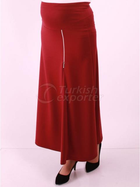 Advanced Sports Skirts Maternity Clothes Zipper Stitched Lacoste