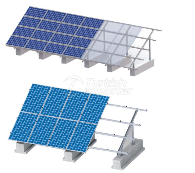 Filed Type Solar Mounting System