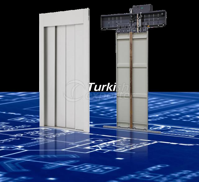 Porta de cabine