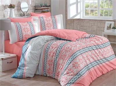 Carla Salmon- Poplin Single Bed Linen Set (8698499116740)