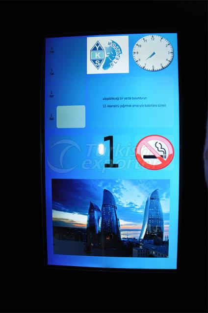 TFT Display for Elevator Button