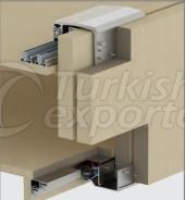 Adjustable Sliding Wardrobe System M02 8220 SFT