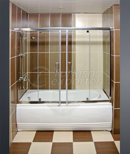 دش وحوض الاستحمام كابينة K-4823