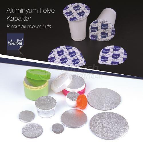 Precut Aluminum Lids