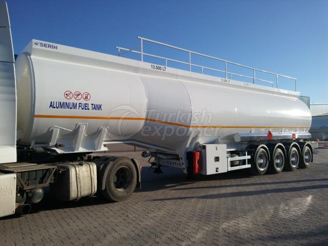 50.000 lt Aluminum Fuel Tank Semi