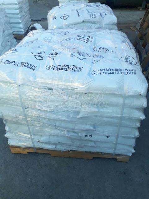 Heptahydrate de sulfate de zinc