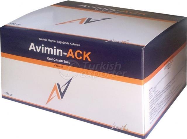 Avimin ACK مسحوق - محلول فمي