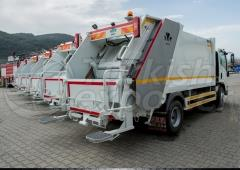 Hydraulic Refuse Collection Vehicle