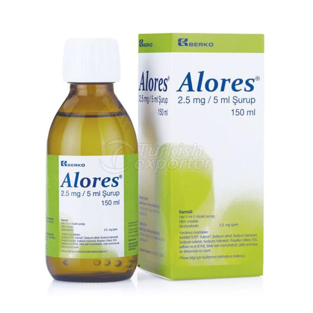 ALORES Syrup
