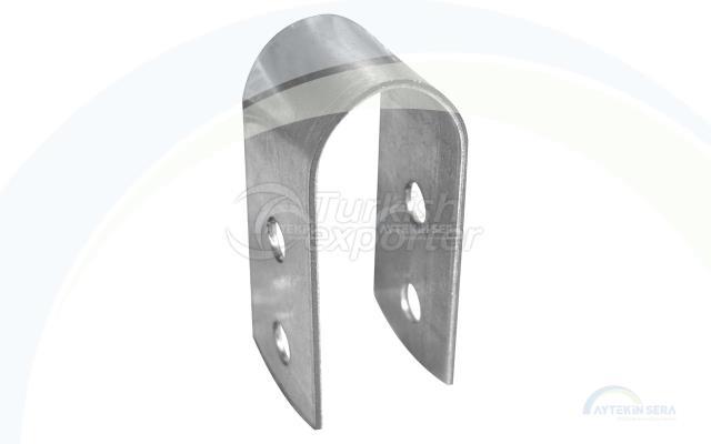 Braçadeira de tubo de cremalheira
