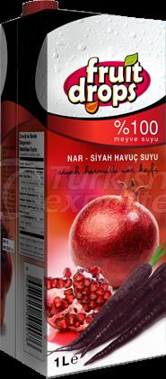 Pomegranate-Black Carrot Juice