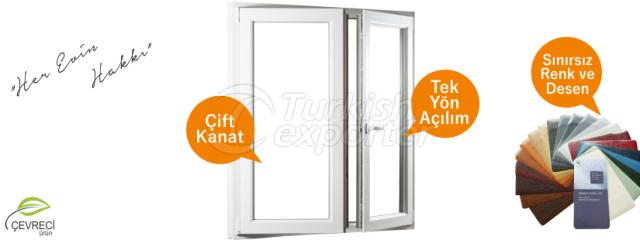 Tilt and Turn PVC Windows