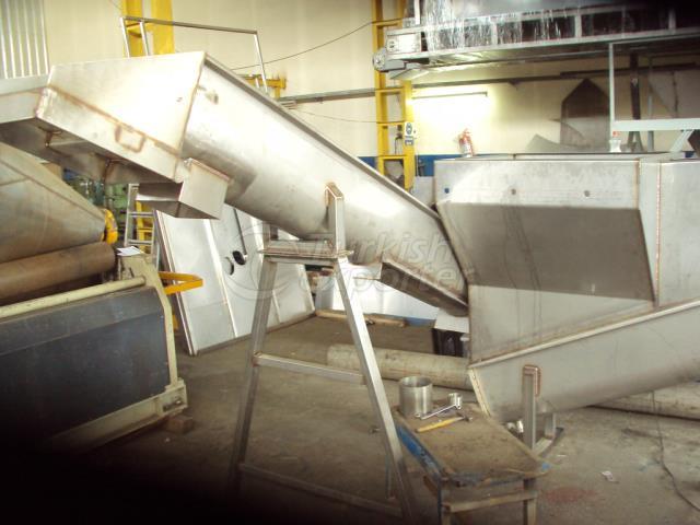 Hélice de separação do separador de PVC