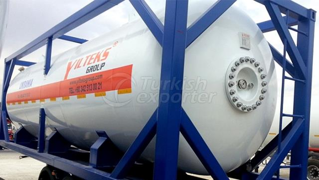 Tanque LPG ISO