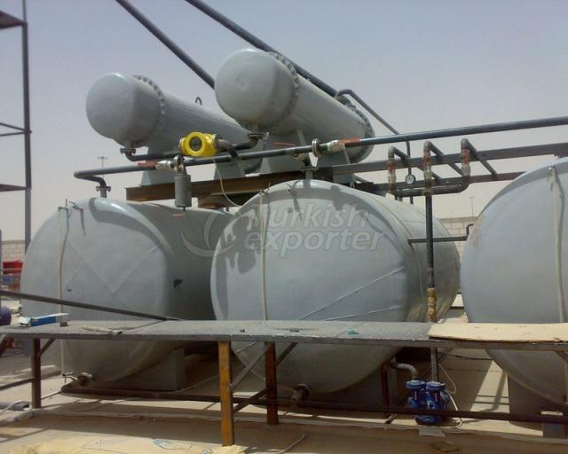 Systèmes de traitement par lots de pétrole brut
