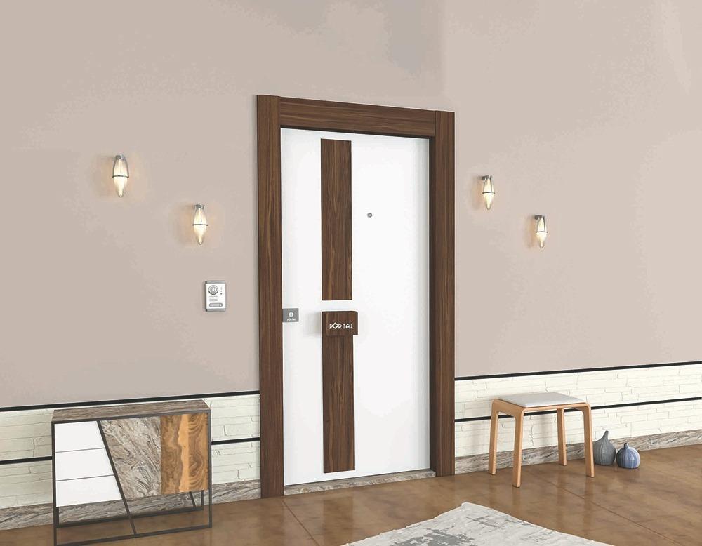 Steel Doors Platinum Arboreal