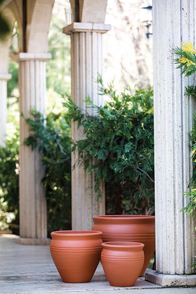 Terracotta Pots Flat  Tapan