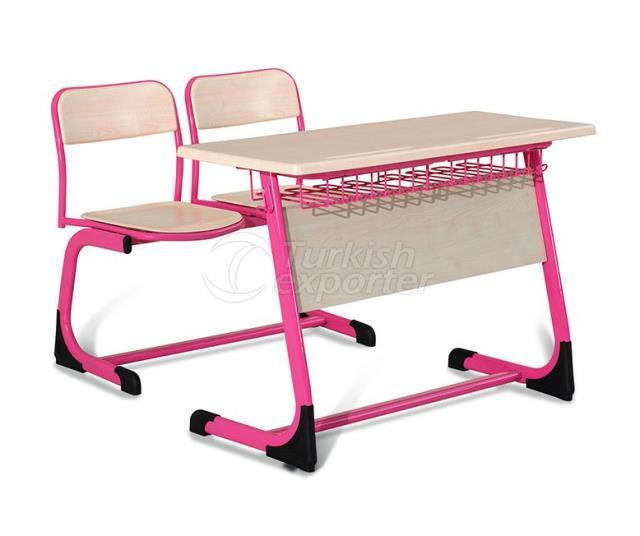 Desks OK-102 tel sepetli perdeli