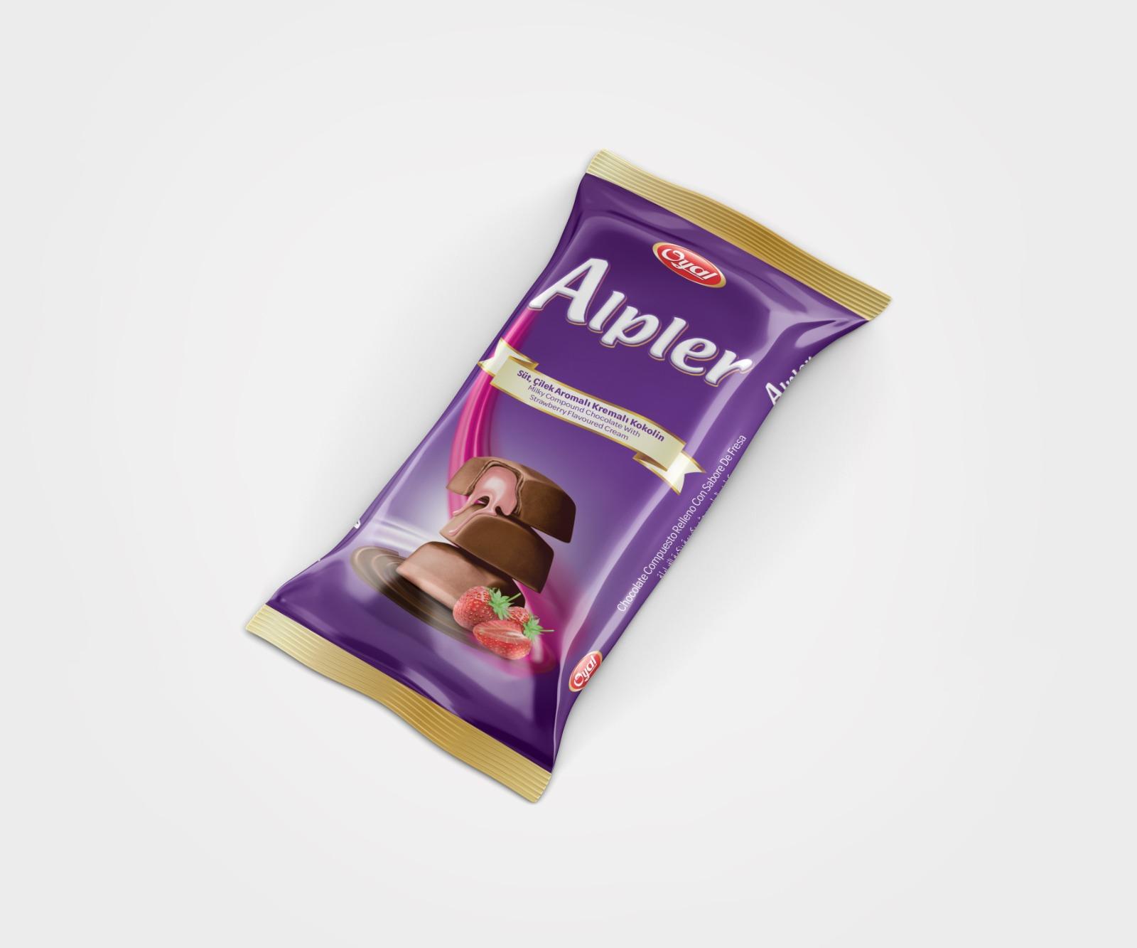 ALPLER TABLET CHOCOLATE FILLED WITH CREAM 45GR