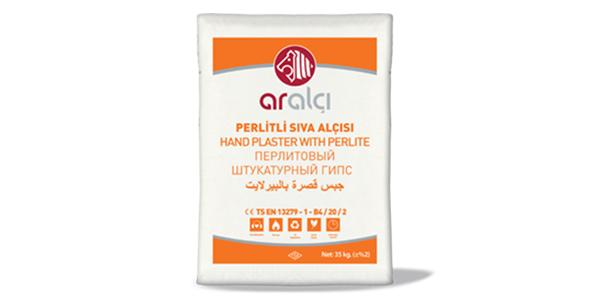 Hand Plaster with Perlite