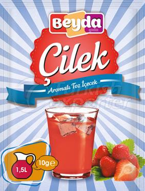 Strawberry Powder Drink