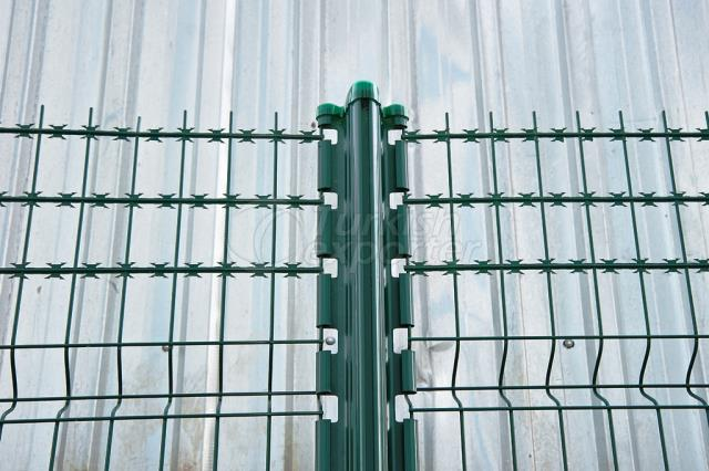 Welded Razor Panel Fence