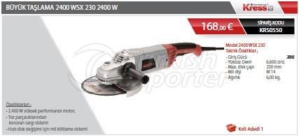 Moagem 2400WSX