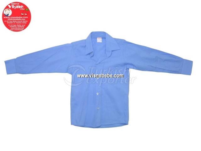 Primary School Blue Boy Shirt