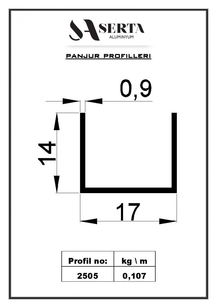 Window Blind Profiles