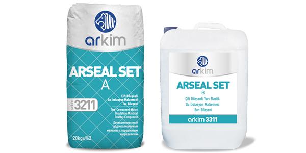 Arkim Arseal Set Çift Elementli Su İzolasyon