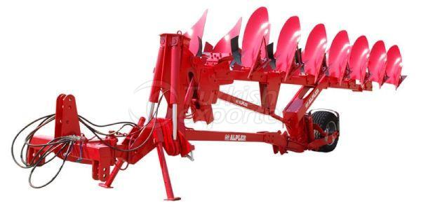 Semi Mounted Reversible Plough