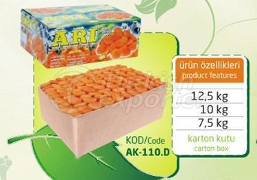 Albaricoque seco sulfuroso AK 110 D 12.5kg